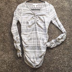 🍂🍁Motherhood Maternity Waffle Knit Long Sleeve